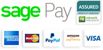 We accept Visa, Mastercard, American Express, Paypall for payments
